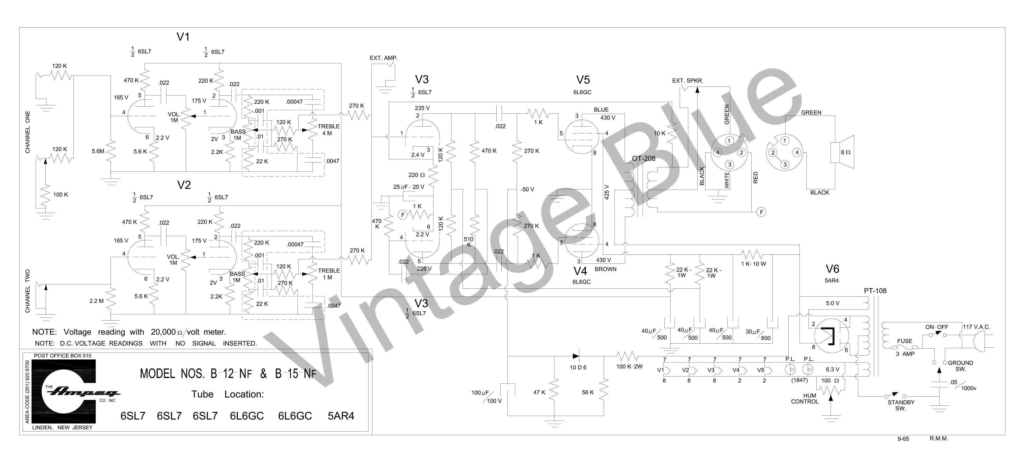 Oliver Tractor Battery Wiring Diagram Honda Cr z Fuse Box Aqua Spas B15nf  Schematic 9 65