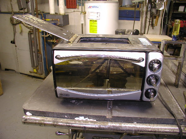 Modified toaster oven