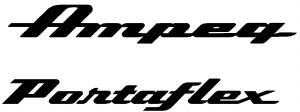 Ampeg/Portaflex logos