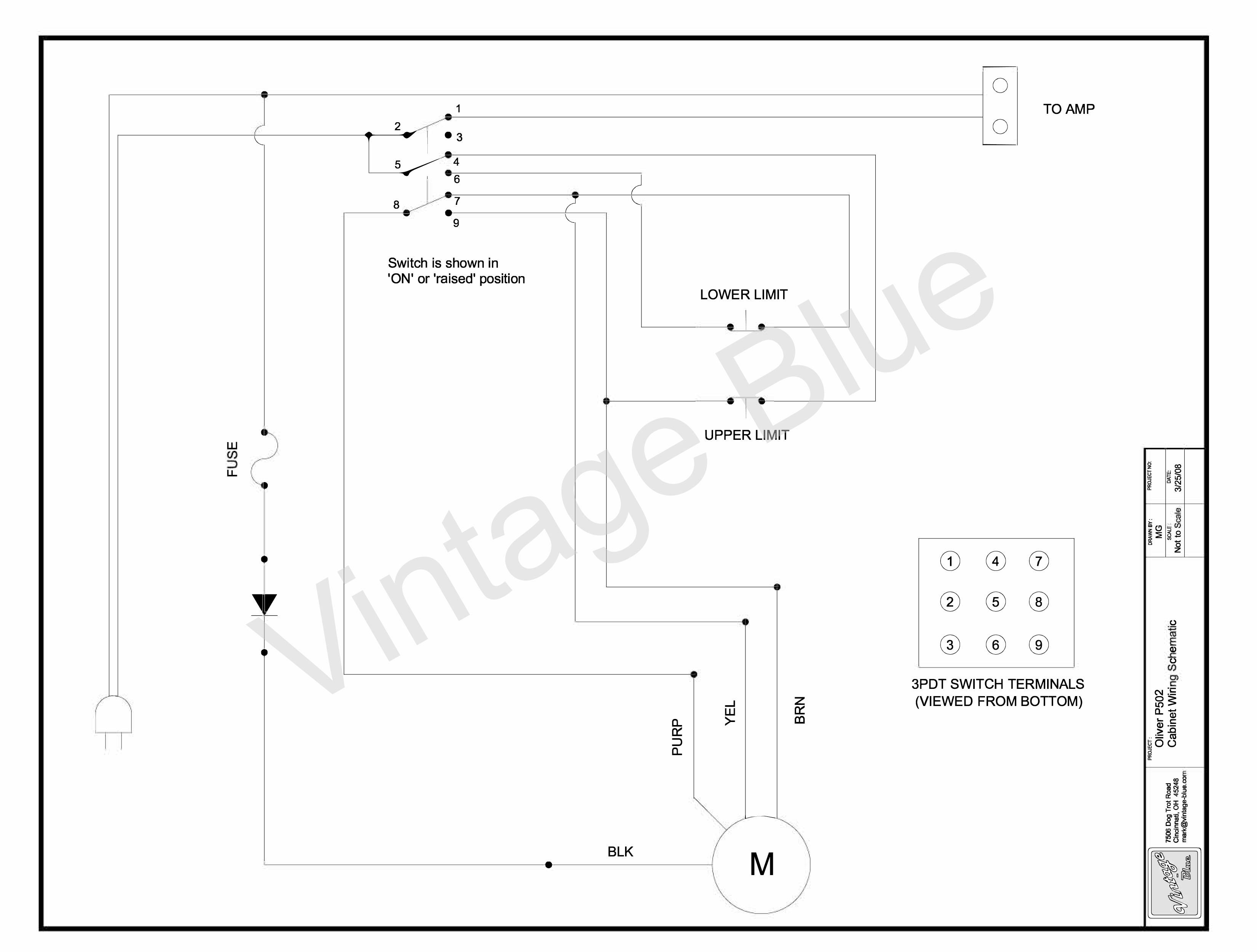 Schematics 3pdt Switch Wiring Diagram Pdf